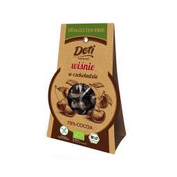 Bio wiśnie w czekoladzie