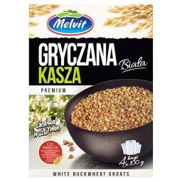 Premium Kasza gryczana biała 400 g (4 torebki)