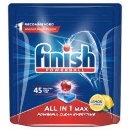 All in 1 Max Lemon Tabletki do mycia naczyń w zmywarce  (45 sztuk)