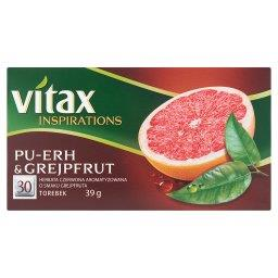 Inspirations Herbata czerwona aromatyzowana Pu-erh & grejpfrut 39 g