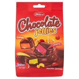 Galaretki w czekoladzie z nadzieniem
