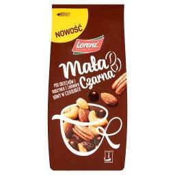 Mała czarna Mix orzechów i rodzynek z ziarnami kawy w czekoladzie