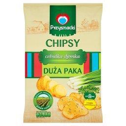 Chipsy cebulka dymka