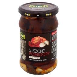 Suszone pomidory z czosnkiem 280 g