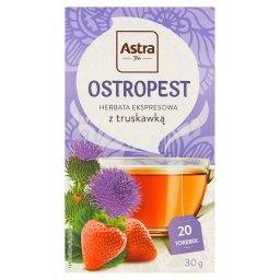 Herbata ekspresowa ostropest z truskawką 30 g