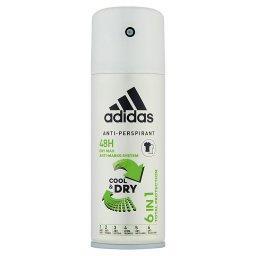 6 in 1 Dezodorant antyperspirant dla mężczyzn