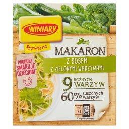 Pomysł na... Makaron z sosem z zielonymi warzywami
