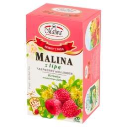 Herbatka owocowo-ziołowa malina z lipą  (20 x 2 g)