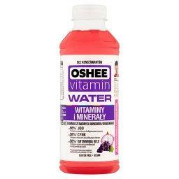 Vitamin Water Napój niegazowany o smaku czerwonych winogron i dragonfruit