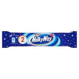 Baton z białym nadzieniem oblany czekoladą 43 g (2 sztuki)