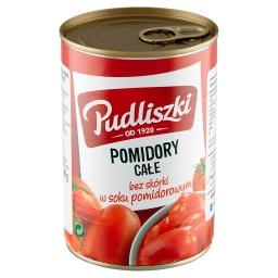 Pomidory całe bez skórki w soku pomidorowym