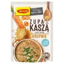 Zupa z kaszą jaglaną krupnik