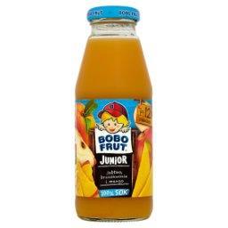 Junior 100% Sok jabłko brzoskwinia i mango po 12 miesiącu