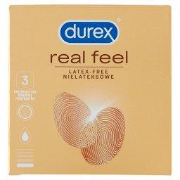 Real Feel Prezerwatywy nielateksowe 3 sztuki