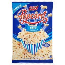 Popcorn z dodatkiem soli