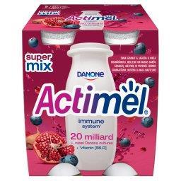 Mleko fermentowane o smaku granat-jagoda-maca 400 g ()