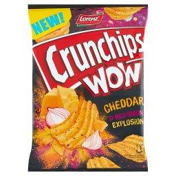 Wow Grubo krojone chipsy ziemniaczane o smaku sera c...