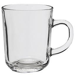 Kubek przezroczysty do kawy/herbaty RIO 240 ml