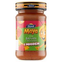Maya Dżem banan z truskawką i miodem