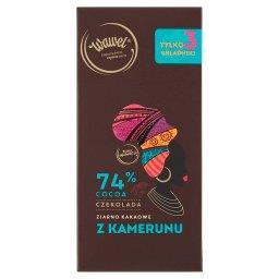 Czekolada 74% cocoa ziarno kakaowe z Kamerunu