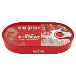 Filety śledziowe w sosie pomidorowym