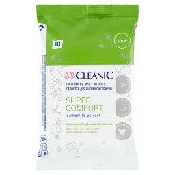 Super Comfort Chusteczki do higieny intymnej 10 sztu...