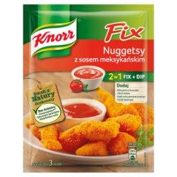 Fix nuggetsy z sosem meksykańskim