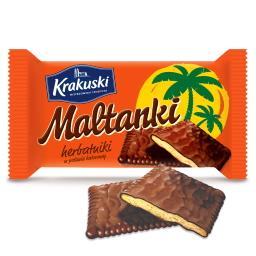 Maltanki Herbatniki w masie czekoladopodobnej