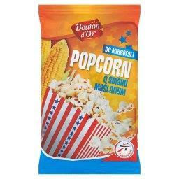 Popcorn do mikrofali o smaku maślanym