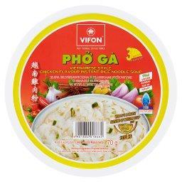 Pho Ga Zupa błyskawiczna z kluskami ryżowymi o smaku...