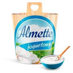 Puszysty serek twarogowy jogurtowy