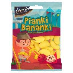Pianki Bananki Cukierki o smaku bananowym