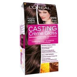 Casting Creme Gloss Farba do włosów 500 jasny brąz