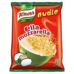 Nudle Ella mozzarella Zupa-danie