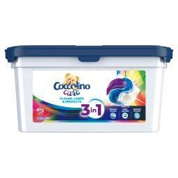 Care Kapsułki 3w1 do prania kolorowych tkanin  (29 p...