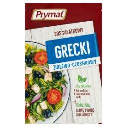 Sos sałatkowy grecki ziołowo-czosnkowy