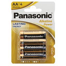 Baterie alkaliczne AA LR6 Blister 4 sztuki