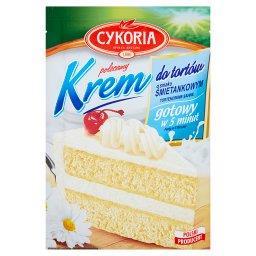 Krem do tortów o smaku śmietankowym 100 g