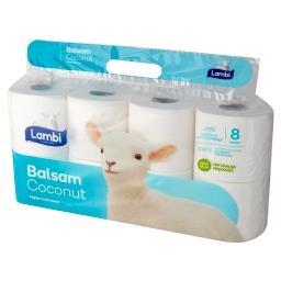 Balsam Coconut Papier toaletowy 8 rolek