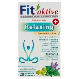 Fit aktive Relaxing Suplement diety herbatka ziołowa...