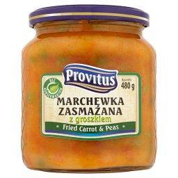 Marchewka zasmażana z groszkiem