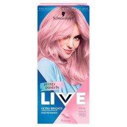 Live Ultra Brights Pretty Pastels Farba do włosów Ro...