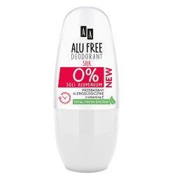 Alu Free Deodorant roll-on Silk bez soli aluminium 5...
