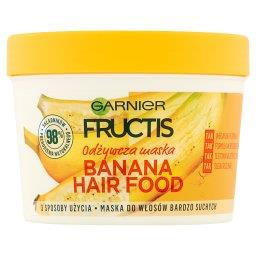 Fructis Banana Hair Food Maska do włosów bardzo such...