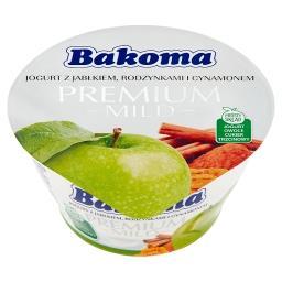 Premium Mild Jogurt z jabłkiem rodzynkami i cynamonem