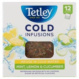 Cold Infusions Herbatka ziołowo-owocowa aromatyzowana mięta cytryna ogórek  (12 torebek)