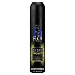 Men Xtreme Sport Energy Boost Antyperspirant 250 ml
