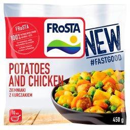 Potatoes and Chicken Ziemniaki z kurczakiem