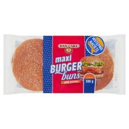 Bułki pszenne z sezamem do hamburgerów 300 g