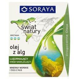 Świat Natury Ujędrniający krem nawilżający olej z alg